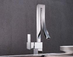 Köksblandare design chrome