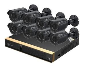 Movols analog övervakningssystem 8 kameror 1080P APP 2TB