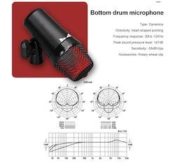 G-Mark Mikrofonsystem för trummor 7-delar