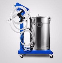 Pulverlackingsmaskin med kärl 55L 50W 100Kv