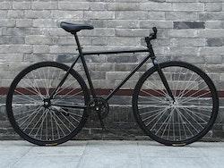 Fixed Gear Cykel svart