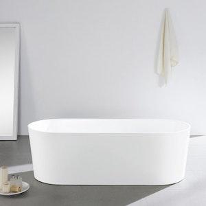Fristående badkar nordisk design 170L