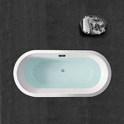 Fristående badkar nordisk design 216L