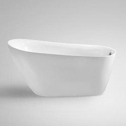 Fristående badkar nordisk design 200L