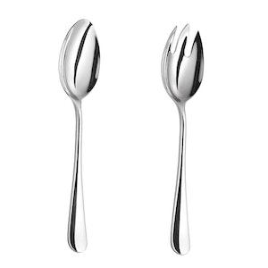 Velaze sallads bestick set i 2-delar silver
