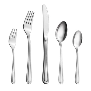 Velaze bestick set i 30-delar rostfritt stål silver