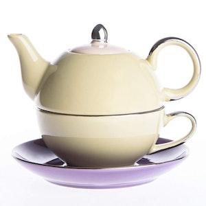 Artvigor, 3-delad te-för-en-set lila/gul