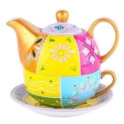 Artvigor, 3-delad te-för-en-set färgglad