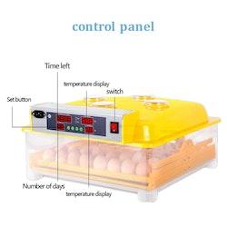 Äggkläckningsmaskin inkubator 48 ägg