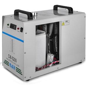 CW-5200DG industriell vattenkylare för Co2 laser 130/150W