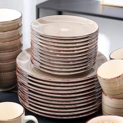 Vancasso Bella serien, servis uppsättning 48-delar brun