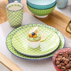 Vancasso Macaron serien, servis uppsättning 24-delar