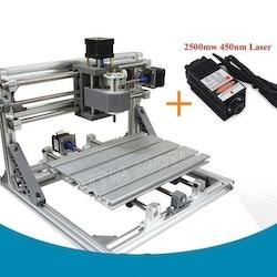 CNC 2418 fräs, lasergravyr med 2500mw laser