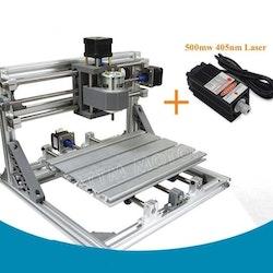 CNC 2418 fräs, lasergravyr med 500mw laser