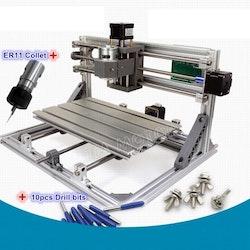 CNC 3018 router fräs, gravyrmaskin utan laser ER11