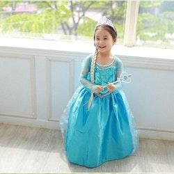 Frost Elsa Anna disney, klänning barn strl.9