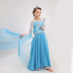Frost Elsa Anna, klänning barn strl.4