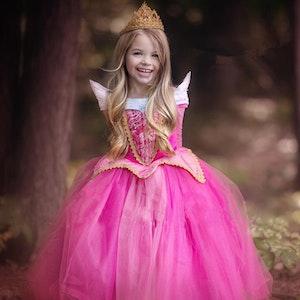 Disney prinsessa Törnrosa, klänning barn strl.8
