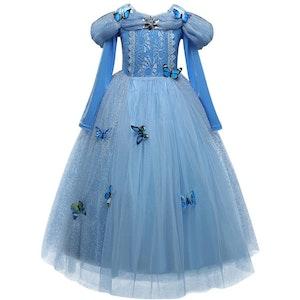 Disney prinsessa, klänning barn strl.4