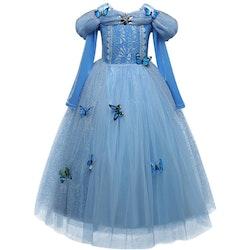 Disney prinsessa, klänning barn strl.8