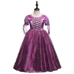 Disney prinsessa Rapunzel, klänning barn strl.5
