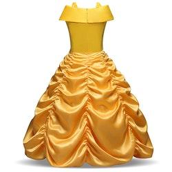 Disney prinsessa Belle, klänning barn strl.4