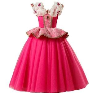 Disney prinsessa, klänning barn strl.6