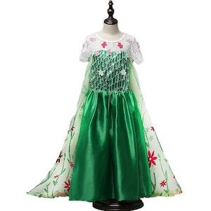 Disney prinsessa, klänning barn strl.9