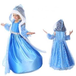 Frost Elsa Anna, klänning barn strl.6