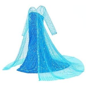 Frost Elsa Anna, klänning barn strl.5