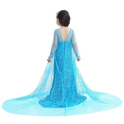 Frost Elsa Anna, klänning accessoarer barn strl.5