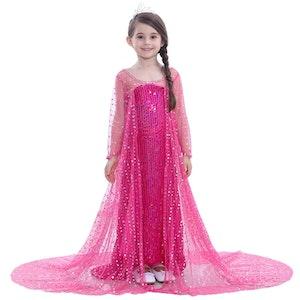 Frost Elsa Anna, klänning barn strl.4T