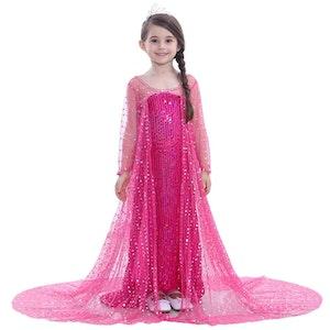 Frost Elsa Anna, klänning barn strl.7