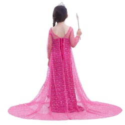 Frost Elsa Anna, klänning accessoarer barn strl.4T