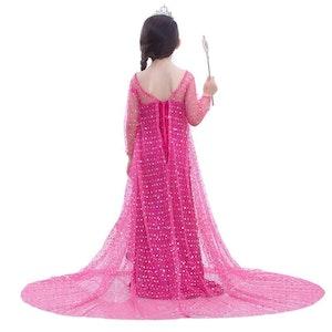 Frost Elsa Anna, klänning accessoarer barn strl.8