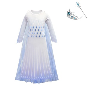 Frost Elsa Anna, klänning accessoarer barn strl.140