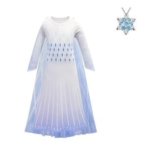 Frost Elsa Anna, klänning accessoarer barn strl.110