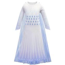 Frost Elsa Anna, klänning accessoarer barn strl.150