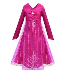 Frost Elsa Anna, klänning accessoarer barn strl.120