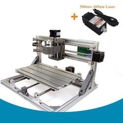 CNC 3018 router fräs, gravyrmaskin Laser 500mw