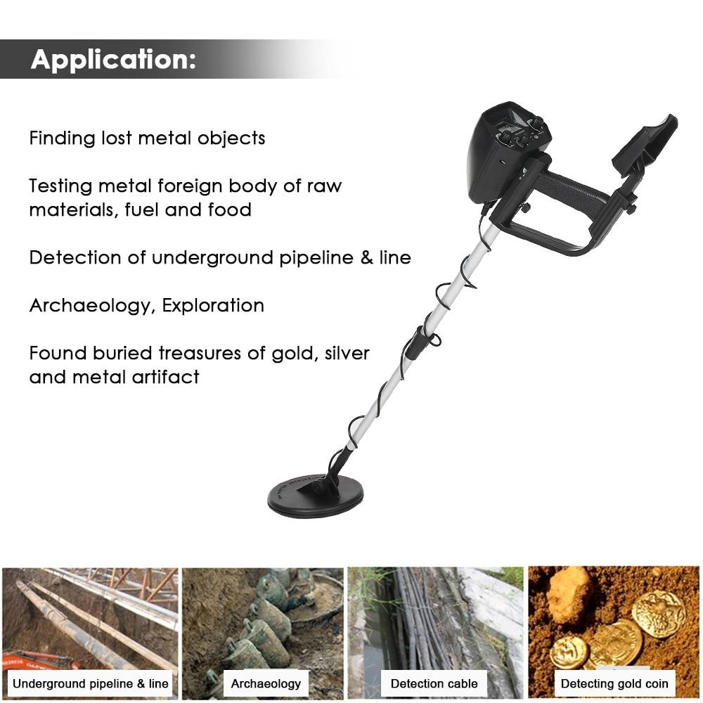 KKMOON MD 4030 Professional Metalldetektor Sumodeal