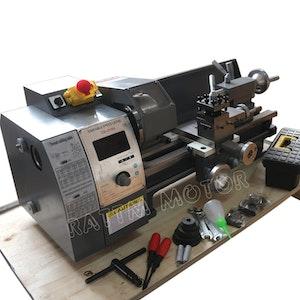 WM210V mini svarv metall trä750W spindel