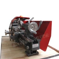 WM180V mini svarv metall trä 600W spindel