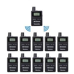 Retekess TT109 trådlöst sändarsystem 10-pack