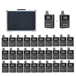 Retekess TT105 trådlöst sändarsystem 30-pack