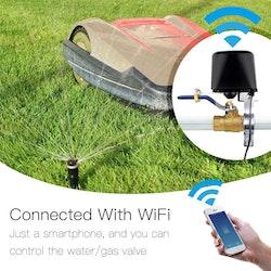 Smart hem automatiserad ventil för bevattning