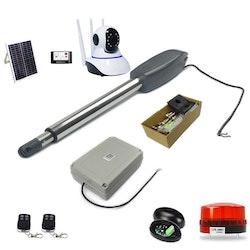 Solar Automatisk grindöppnare kit 12