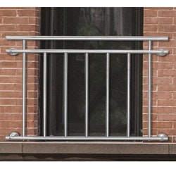 Yonntech balkongräcke i rostfritt st