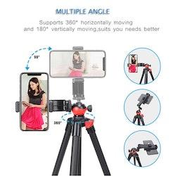 ZOMEi T60 Bärbart selfie kamerastativ