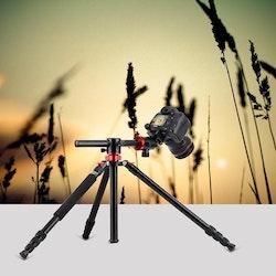 ZOMEi horizontal armad kamerastativ svart
